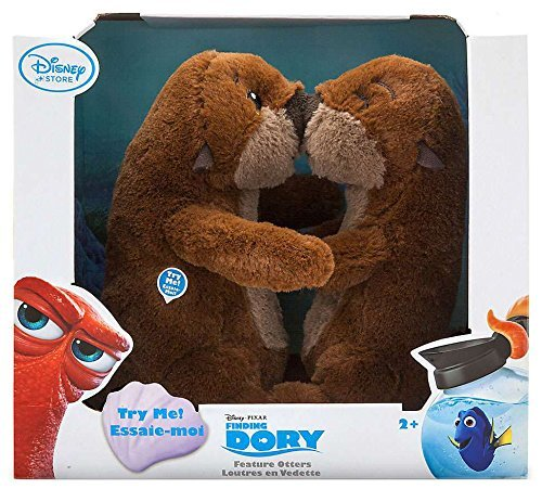 Otters Interactive Feature Plush Set - Finding Dory - Small - 8''