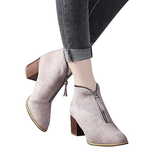 2018 moda invierno botas Zapatos mujer Zapatos damas zapatos