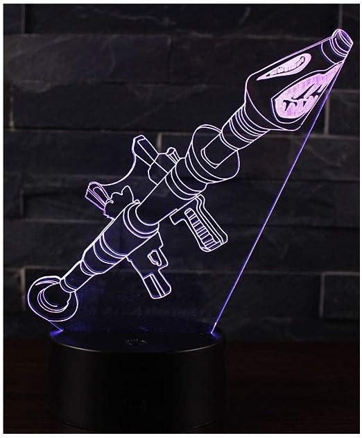 A1 Leisu 3D Illusion Lampe Nachtlicht optische T/äuschung Lampe Schreibtischlampe Tischlampe 7 Farben mit Acryl-Ebene /& ABS Basis f/ür Schlafzimmer Kinder Weihnachts Valentine Geburtstag geschenk