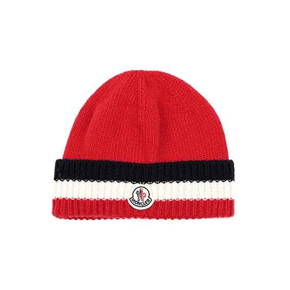 607ca77694 Moncler Junior Cappello Bambino Kids Boy Mod. 0014005: Amazon.co.uk ...