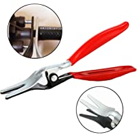 Car Hose Removal Plier Tool - Angled Auto Fuel and Vacuum Line Tube Hose Remover - Separator Pliers Pipe Repairing Tool -