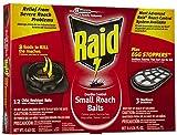 Raid Double Control Small Roach Baits Plus Egg Stopper, 12 CT