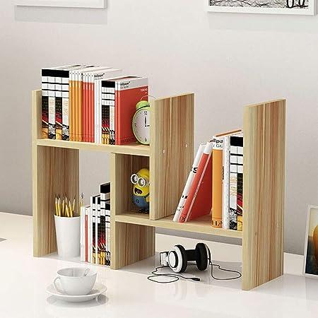 aiqi Paden Mesa de estantería de Escritorio Estante pequeño ...