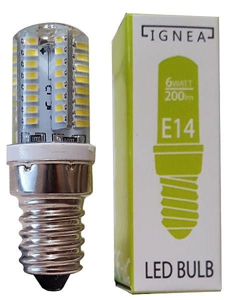 Bombilla LED E14 64 de ahorro de energía para campana o frigorífico