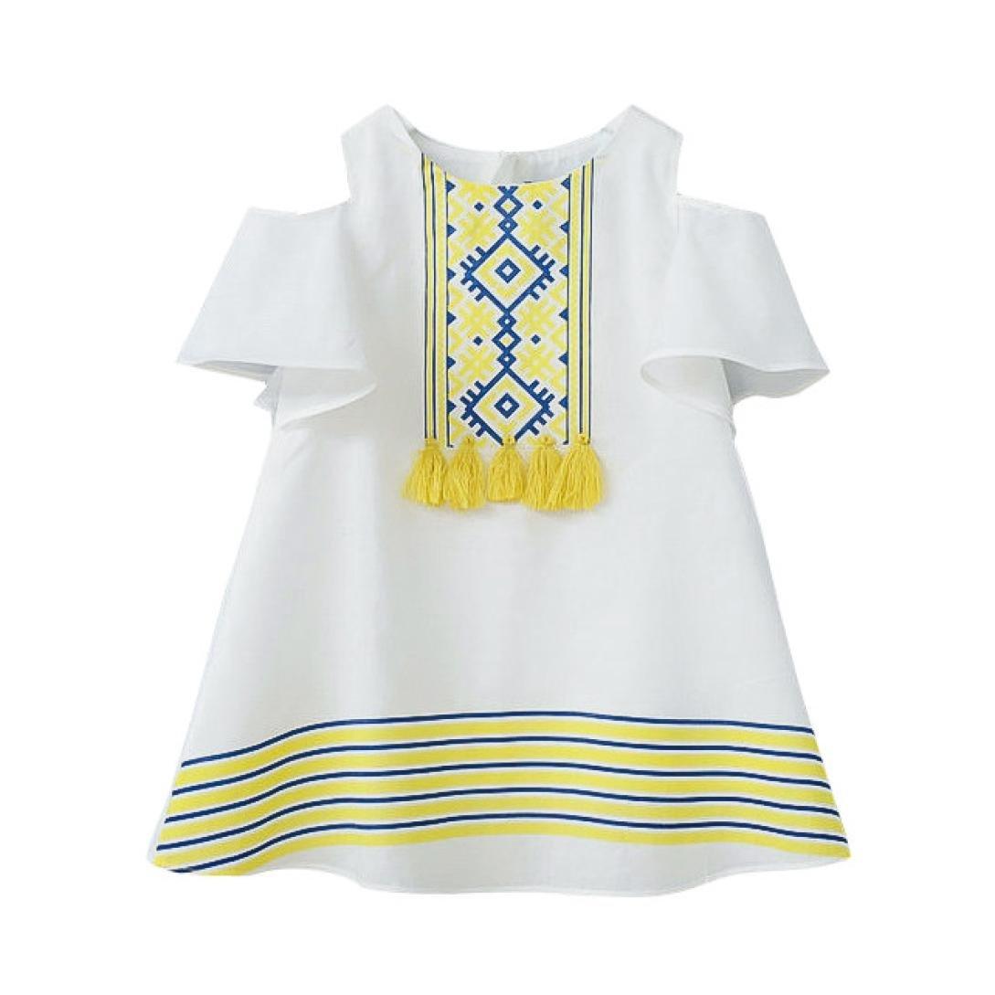 Kleinkind Kinder Kleider Hirolan Sommerkleidung Baby Mädchen ...