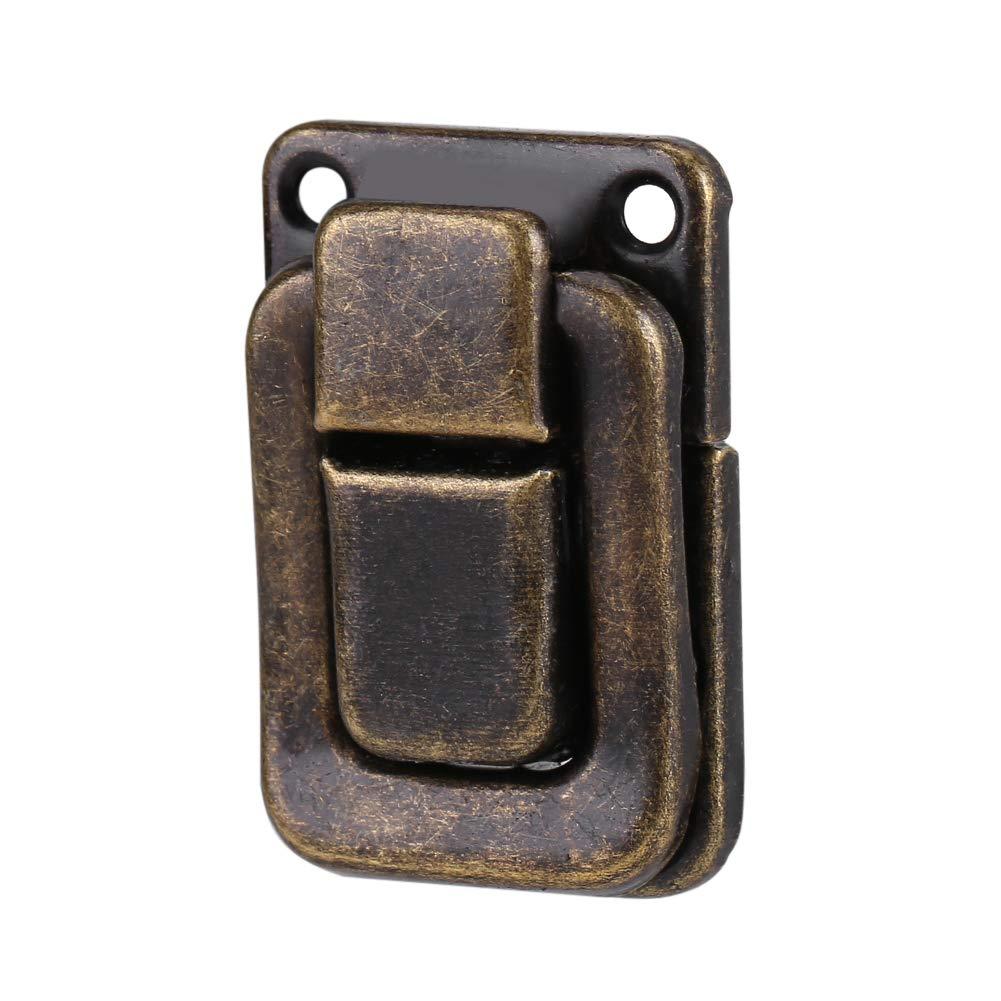 Armoire loquets Coque Forme rectangulaire /à bascule Loquet de Coque de voyage DIY Suitcase Box Sac Catch Fermeture Lock Lot de 20