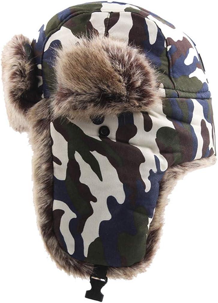 Unisex Camo Bomber Hats...