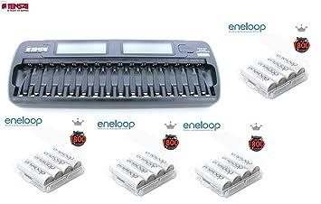 Tensai TI-1600L 16 Eneloop - Pack de pilas y cargador (NiMh)