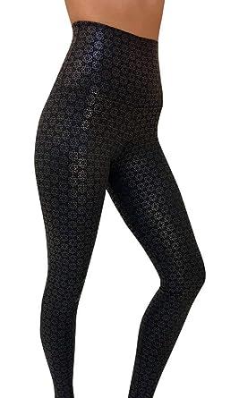61f9015ddbbfa6 Onzie Final Sale Hot Yoga High Rise Legging 228 Black Shadow, XS, Black  Shadow