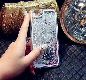 carcasas iphone 5s purpurina