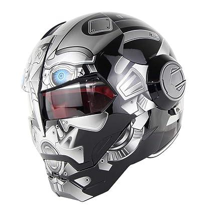 D.O.T Certificado Motocross Casco De Motocross Cara Completa Casco Moto Tapa Abierta Casco De Máscara,