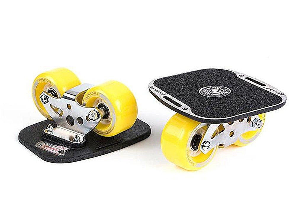 ドリフトスケートフリーラインスケート - ベアリング付きアルミニウム合金と72mm PUホイール