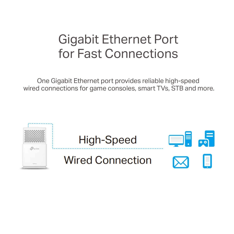 TP-Link AV1000 Powerline Ethernet Adapter - Gigabit Port, Plug&Play, Power Saving(TL-PA7010 KIT) by TP-LINK (Image #5)
