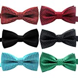 YOY Handcrafted Adorable Pet Bow Ties - 6-pack...