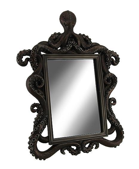 Amazon.com: Coastal Reflexiones Espejo de mesa decorativo ...