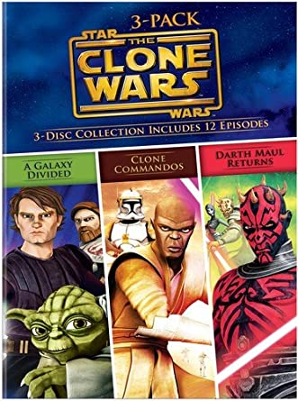Star Wars the Clone Wars Volumes 3-Pack Reino Unido DVD: Amazon.es ...