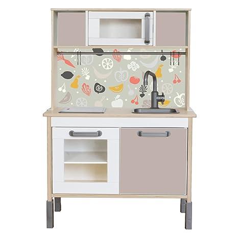Oracal adatto per il tuo IKEA bambini Cucina DUKTIG (colore Prugna ...