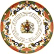 Royal Worcester Queen Elizabeth II Diamond Jubilee Plate