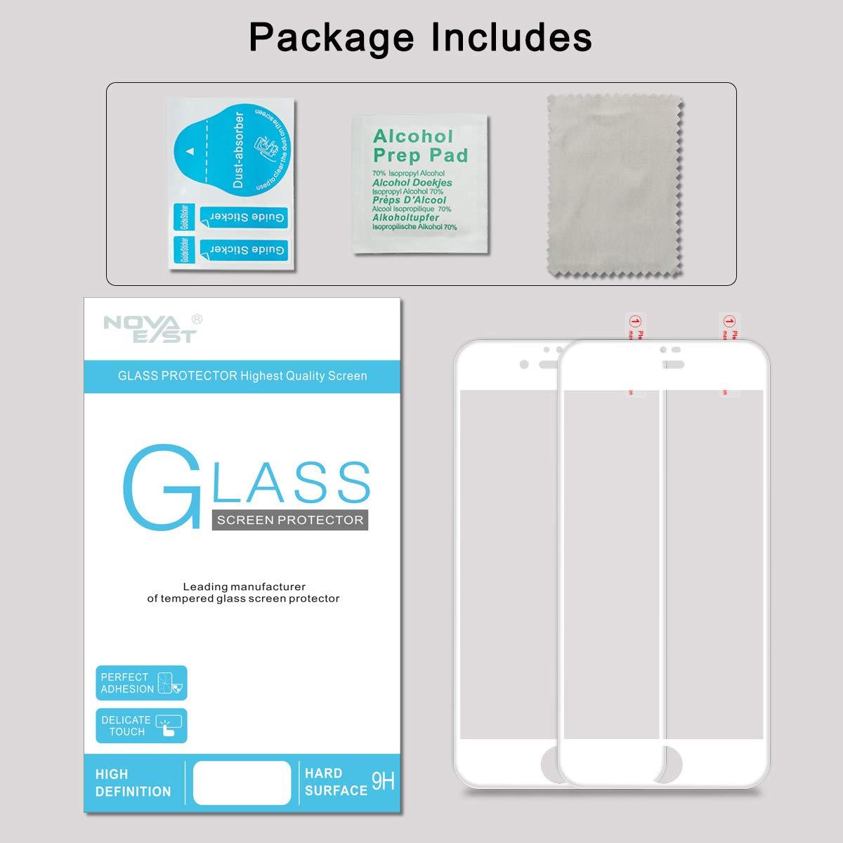 Anspruchsvoll Alkohol Definition Galerie Von Novaeast [2 Pack] Iphone 7 Screen Protector,