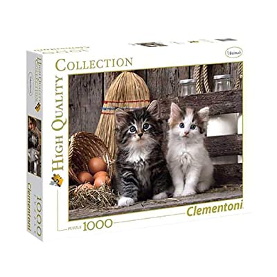 "Clementoni ""Cute Kittens Puzzle (1000 Piece): Toys & Games"