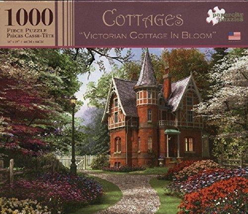 Cottages 1000 Piece Puzzle - Victorian Cottages in Bloom by Papercity Puzzles B01C6OH8B6 Klassische Puzzles Meistverkaufte weltweit | Sale Outlet