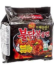 5pk Hot Chicken Flavor Ramen - Korean Asian Noodle Ramyun - 5 Bags