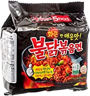 New Samyang Ramen/Spicy Chicken Roasted Noodles, 4.94 oz (Pack of 5)