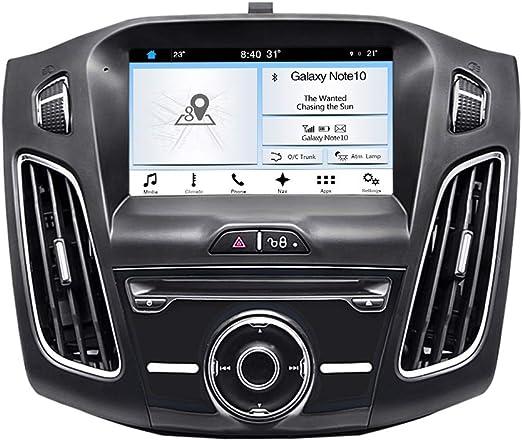 HUOGUOYIN Car Stereo Bluetooth 9inch Radio de Coche de la Fascia del Marco Dash Panel for Ford Focus est/éreo 3 2012 2013 2014 a 2017 Jefe Unidad de reinstalaci/ón del Coche Fascia del Coche