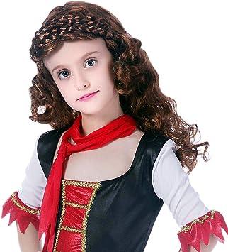 YMOY Peluca salvaje pirata Anime pelo,Disfraz - Fiesta - Carnaval ...