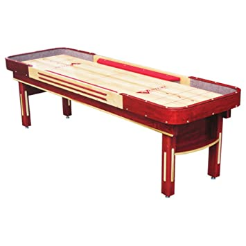 Amazoncom Grand Deluxe Bankshot Shuffleboard Table Gaming Board - Standard shuffleboard table