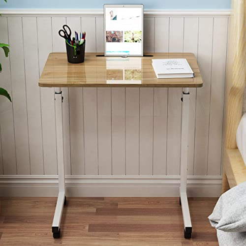 SDHYL 23.6 inches Adjustable Work Stand Mobile Side Desk