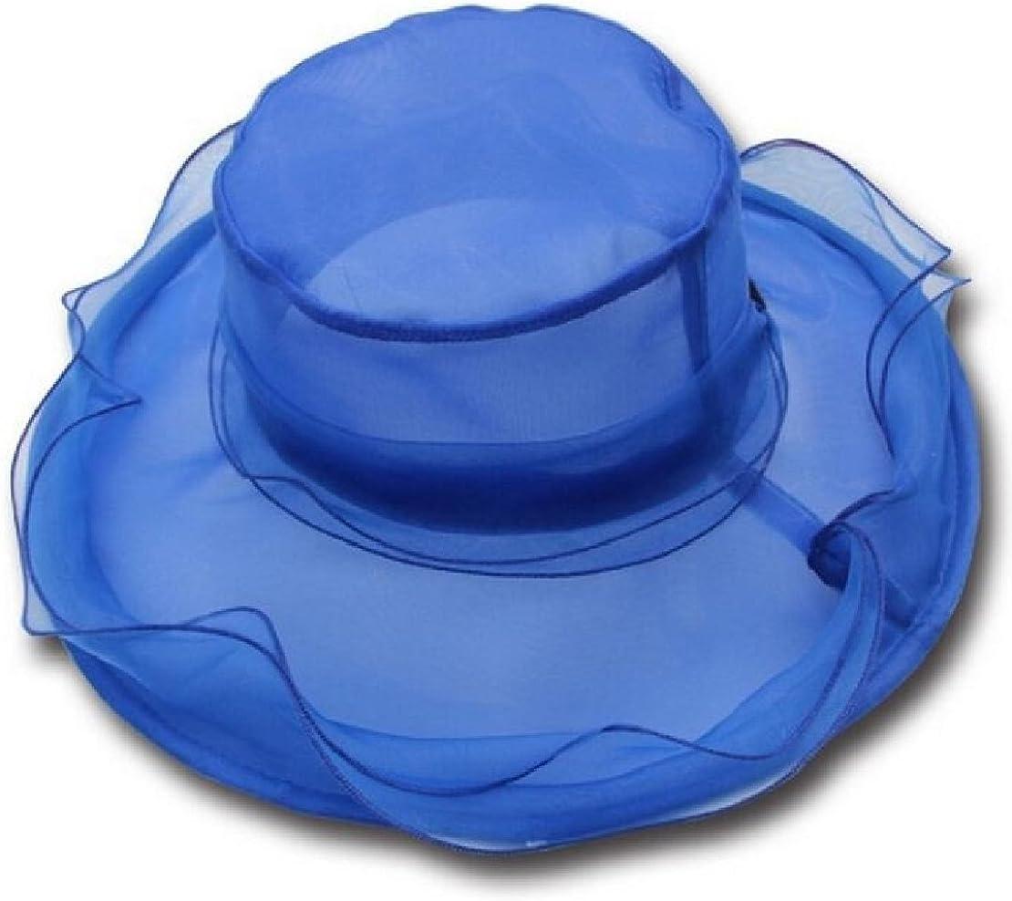M/&S/&W Womens Organza Church Kentucky Derby Fascinator Tea Party Wedding Hat