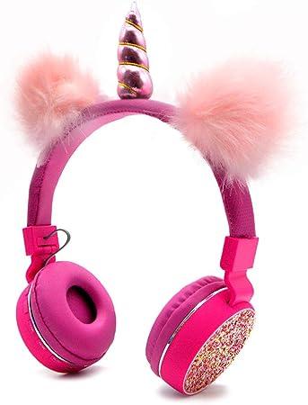 Bluetooth 5 0 Einhörner Kopfhörer Mit Flauschigen Elektronik