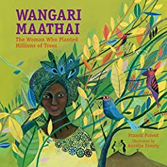 Wangari Maathai received the Nobel Peace Prize in 2004 for her efforts to lead women in a nonviolent struggle to bring peace and democracy to Africa through its reforestation. Her organization planted over thirty million trees in thirty years. This b...