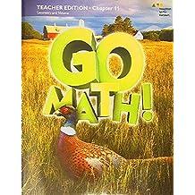 Go Math! Teacher Edition Chaper 11:Geometry and Volume, 9780544711914, Copyright 2016