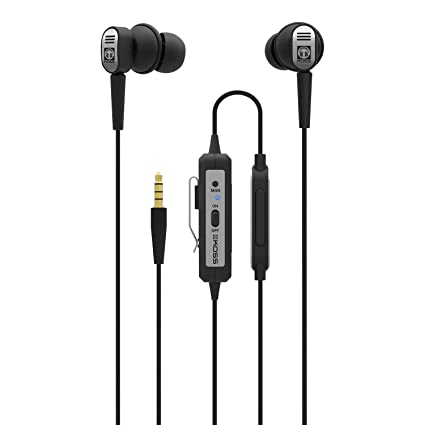 aa3ad815fdd Image Unavailable. Image not available for. Color: Koss QZ Buds | in-Ear  Active Noise Cancelling Earbuds ...