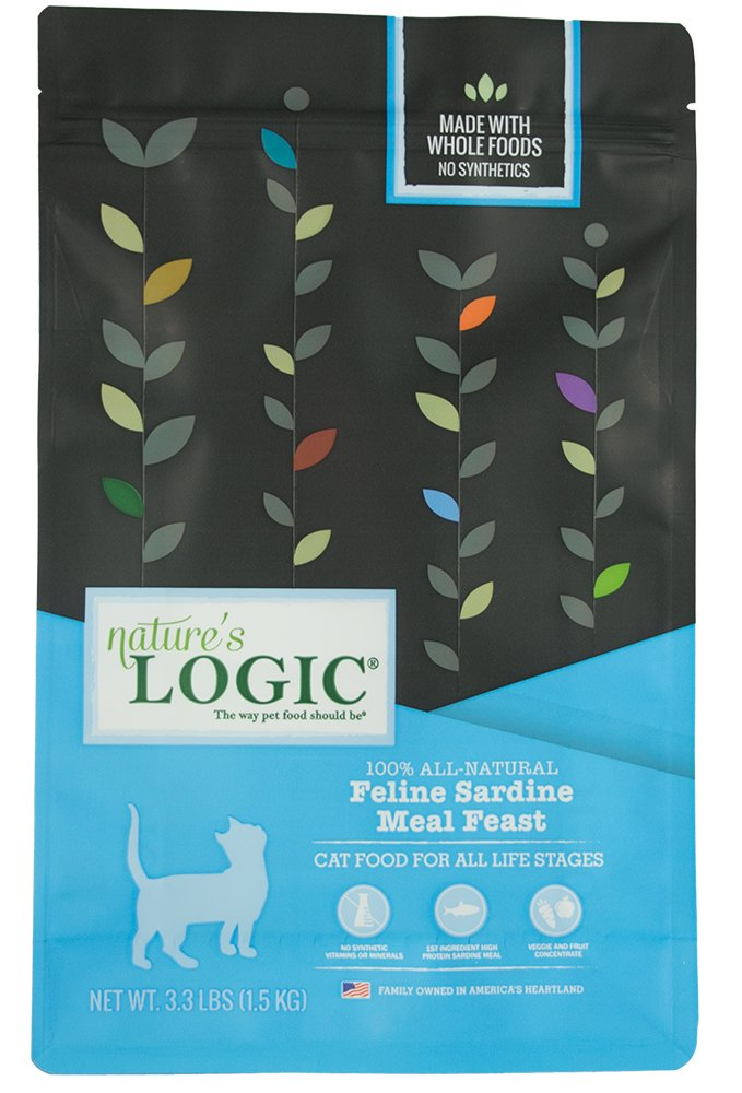 3.3 lb Nature's Logic Feline Sardine Meal Feast, 3.3lb