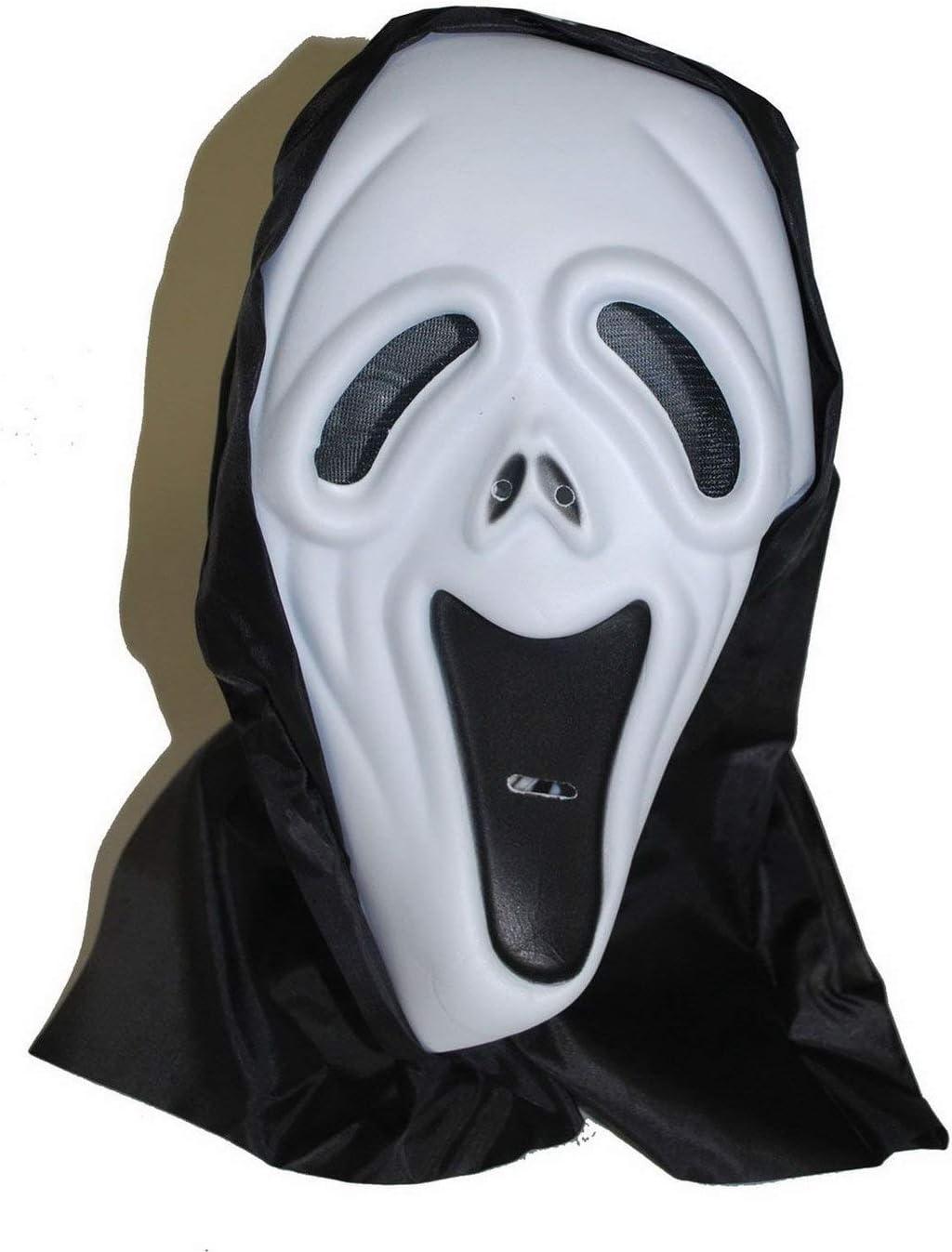 Karnevalsbud – Accesorios de Disfraz máscara de Espuma Scream con ...