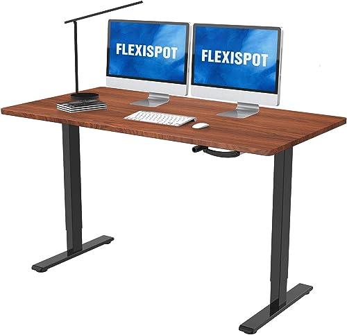 Crank Height Adjustable Computer Laptop Standing Desk