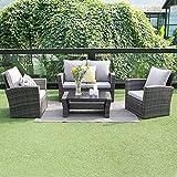 Wisteria Lane Outdoor Sectional Sofa Set,Patio Furniture Set