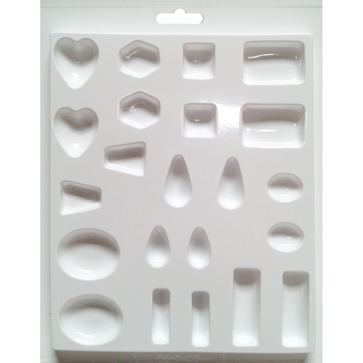 Yaley Jewelry Casting Mold, Assorted Size and Shape Jewels 02-8403