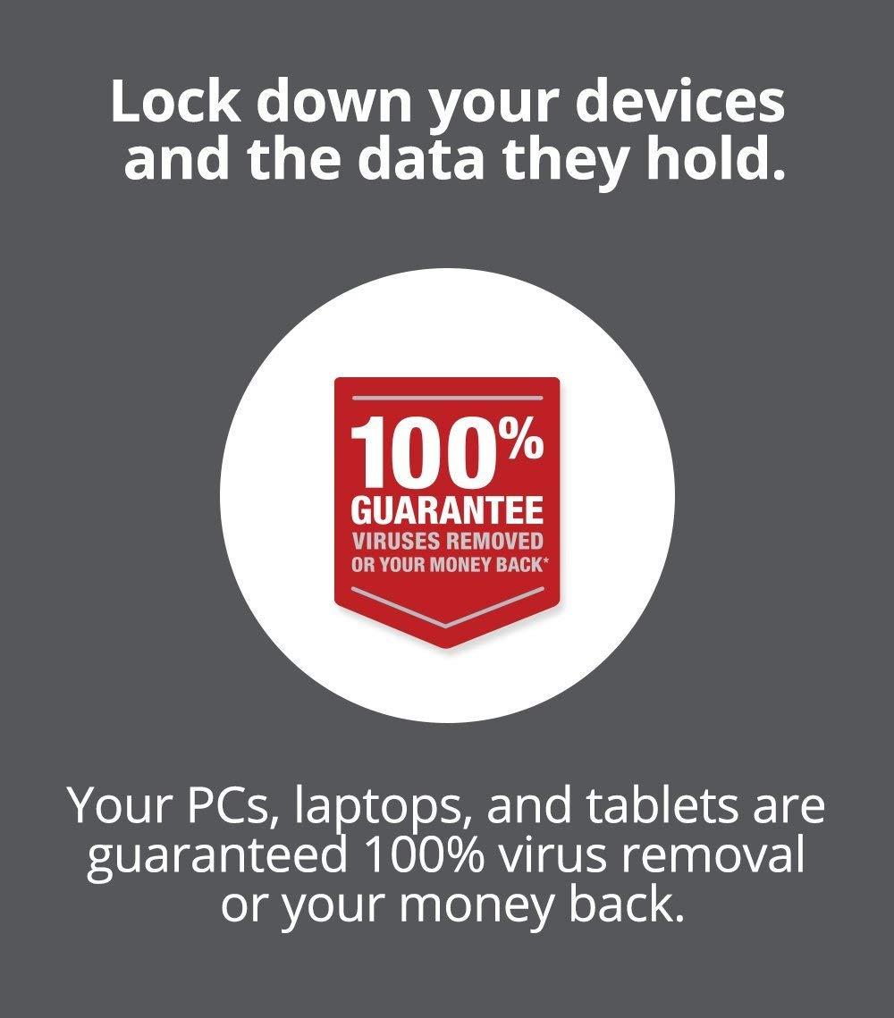 McAfee Total Protection|Antivirus| Internet Security| 3 Device| 1 Year Subscription| PC/Mac Download|2019 Ready by McAfee
