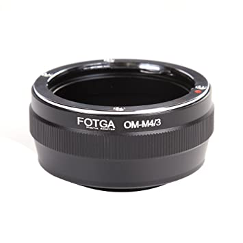 Fotga Olympus OM Manual Lens to Micro 4//3 M43 M4//3 Four Thirds Camera Amount Adapter Ring Olympus Pen E-PL1,E-PL2,OM-D,E-M5,E-M10 Panasonic Lumix GH1,GH2,GH3,GH4,GH5,GH5s