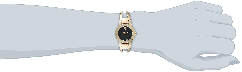 Movado Women s 604758 Amorosa Stainless Steel Bangle Watch
