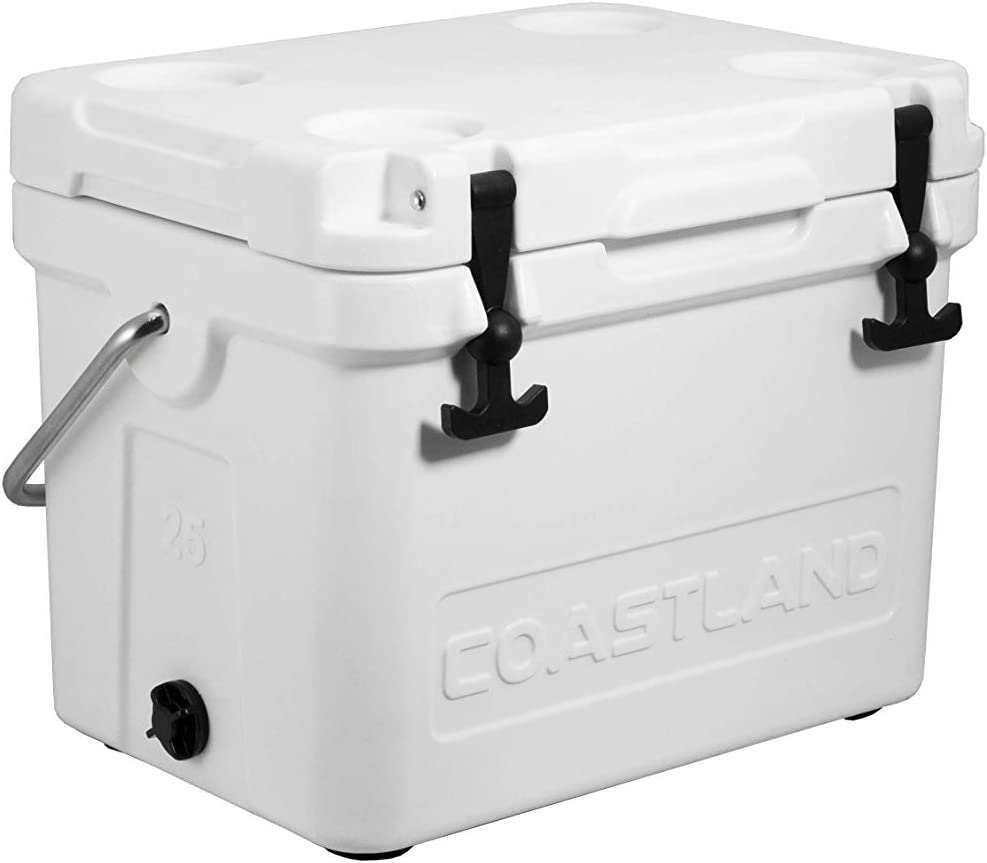 Coastland Bay Series Coolers | Premium Everyday Use Insulated Cooler | Ice Chest available in 15-Quart, 20-Quart & 25-Quart Capacity