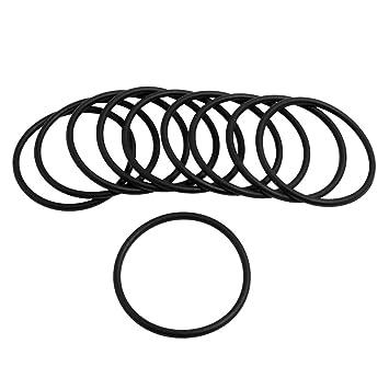 50 Stueck Dichtungsring//O-Ring O-Ring R fuer Automobile 6,5 x 1,5 mm TOOGOO aus Nitrilkautschuk