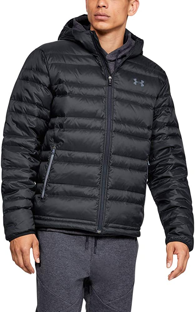 Under Armour mens Armour Down Hooded Jacket: Clothing