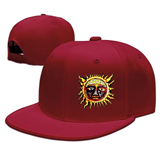 Mens Custom Running Flat Bill Cap Gifts at Amazon Men s Clothing store  74ecd55a4242