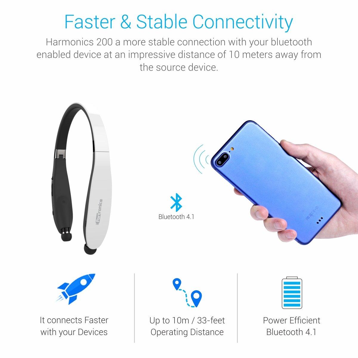 e41ac18b5ca Portronics Harmonic 200 POR-930 Wireless Stereo Headset (White): Buy Portronics  Harmonic 200 POR-930 Wireless Stereo Headset (White) Online at Low Price in  ...