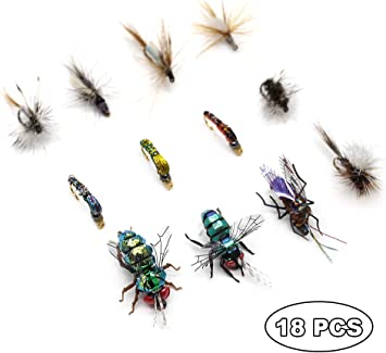 Fishing flies Tiger Nymphs Trout Flies nymphs. 6 Per Pack Choice of Sizes